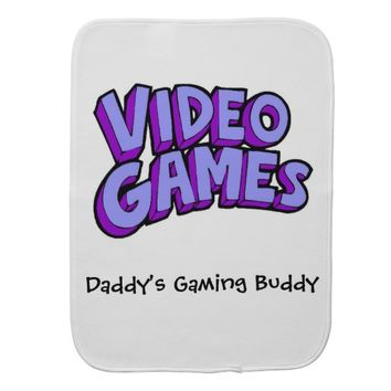 Video Games Gaming Baby Burp Cloth