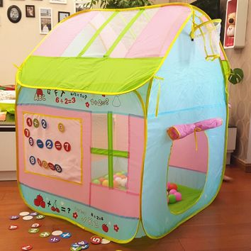 Kids' Foldable Indoor/Outdoor Play Tents