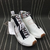ADIDAS ORIGINALS NMD CITY SOCK x OFF-WHITE RUNNING SHOES