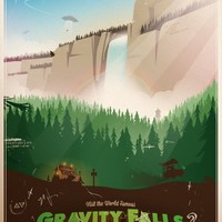 Gravity Falls - National Park Poster