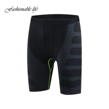 Mens Quick Dry Body Compression Base Layer Thermal Under Shorts Boys Casual Skinny Shorts