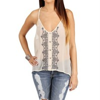 Pre-Order: Ivory Braided Straps Top