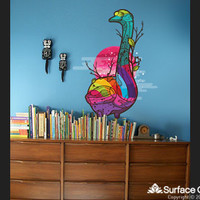 Surface Collective's Wall Tattoos / Wall Decals / Laptop Decals - Product - In the Forest Goose