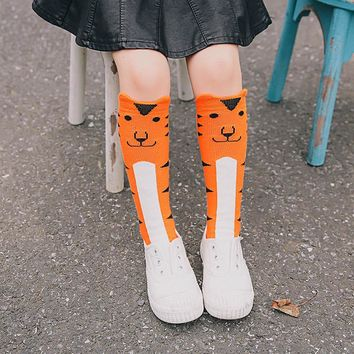 3styles 0-6year Cute Lovely Cartoon Animal Zoo Socks Baby Girls Boys Cotton Warm Soft Sox baby girls socks tube socks drop ship