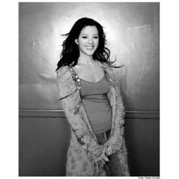 Sarah Mclachlan poster Metal Sign Wall Art 8in x 12in Black and White