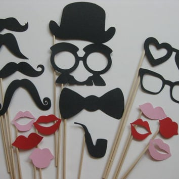 Photo Booth Party Props The Sexy by olivetreemonograms on Etsy