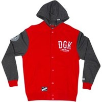 DGK Dropout Letterman Fleece Sweatshirt - Men's at CCS