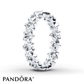 pandora-ring-starshine-sterling-silver number 1