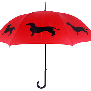 Walking Stick Umbrella, Dachshund II, Stick