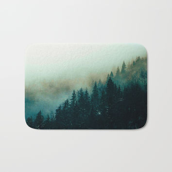 Foggy Magic Bath Mat by cadinera