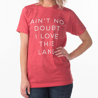 Women's Love This Land T-Shirt