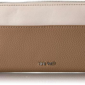 PEAPGQ6 Nine West Table Treasures Zip Around Wallet With Pouch 2 Wallet