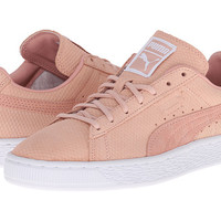 PUMA The Suede Classic Lo Winterized Coral Cloud Pink/Bronze - Zappos.com Free Shipping BOTH Ways