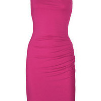 Michael Kors|One-shoulder stretch-jersey dress|NET-A-PORTER.COM