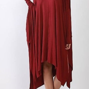 Get Draped Shirt Dress