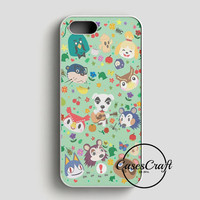 Animal Crossing New Leaf Town Folk iPhone SE Case | casescraft
