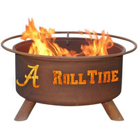Alabama Steel Fire Pit by Patina Products