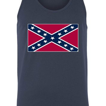 Confederate Rebel Flag Tank Top Southern Pride