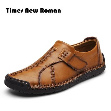 Men Causal Shoes Genuine Leather Men Shoes High Quality Outdoor Shoes Hombre