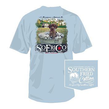 Reese Tee in Southern Sky by Southern Fried Cotton