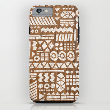 Northwoods Pattern. iPhone & iPod Case by Nick Nelson