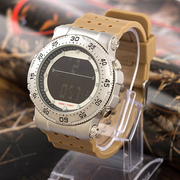 Fashion Stylish Waterproof Electronic Water Proof Multifunction Noctilucent Casual Watch = 4815625732