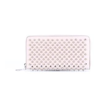CHRISTIAN LOUBOUTIN   Spiked Panettone Calf Leather Wallet   brownsfashion.com   The Finest Edit of Luxury Fashion   Clothes, Shoes, Bags and Accessories for Men & Women