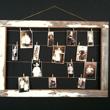 B A R N  wood frame display / reclaimed wood empty by FORTRESSco