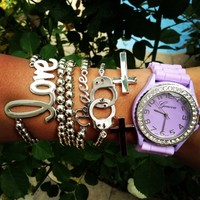Purple Peace Watch Set