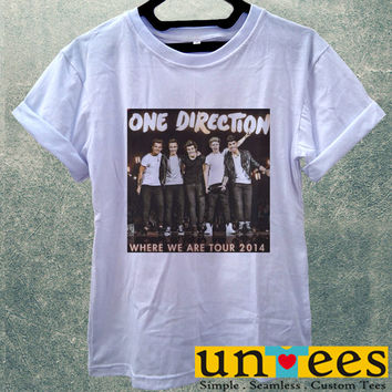 One Direction Where We Tour 2014 Women T Shirt