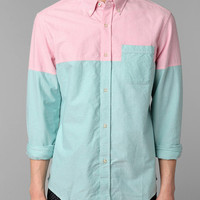 Urban Outfitters - Hawkings McGill Colorblock Pinpoint Oxford Shirt