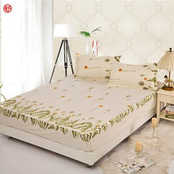 fitted sheet elastic mattress cover eight thousand and ninety bedclothes bedspreads cushion cover bed flat sheet pillowcase 3pcs