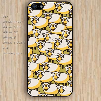 iPhone 5s 6 case sheep Dream catcher colorful cartoon phone case iphone case,ipod case,samsung galaxy case available plastic rubber case waterproof B467
