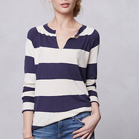 Notched Rugby Sweater