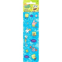 SpongeBob Squarepants 16 Count Stickers Sixteen Sheets Per Pack