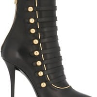 Balmain 'alienor' Lace-up Ankle Boots - Julian Fashion - Farfetch.com