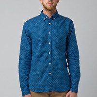 Indigo Cross Long Sleeve Shirt