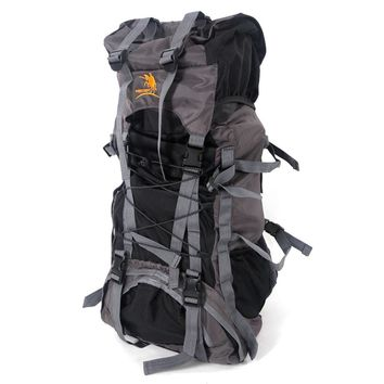Free Knight SA008 60L Outdoor Waterproof Hiking Camping Backpack Black