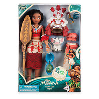 Disney Store Moana with Pua Singing 11' Doll Set New with Box