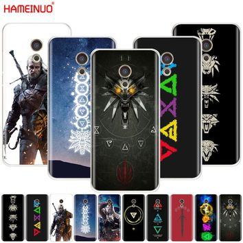 HAMEINUO The Witcher 3 Wild Hunt signs Cover phone Case for Meizu M6 M5 M5S M2 M3 M3S MX4 MX5 MX6 PRO 6 5 U10 U20 note plus