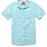 Modern Amusement Great Pyramids Printed Short Sleeve Woven Shirt at PacSun.com
