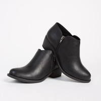Low Cut Ankle Booties