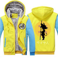 Dragon ball Z hoodie (Saiyan Yellow)