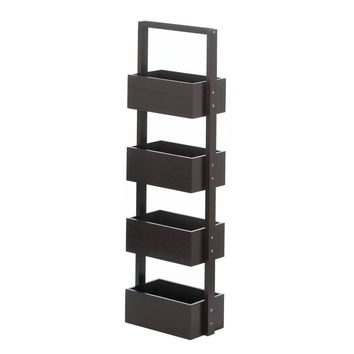 Rectangular 4-tier Spa Tower - Espresso