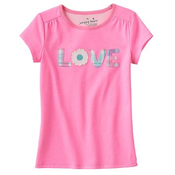 Jumping Beans ''Love'' Tee - Girls