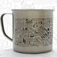 The Chart of Hand Tools Stainless Steel Mug