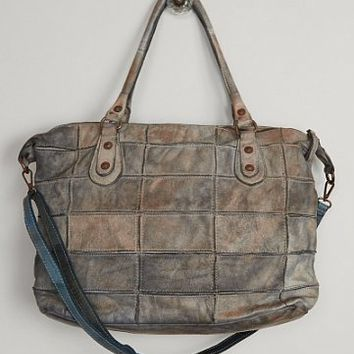 STRAW STUDIOS DISTRESSED PURSE