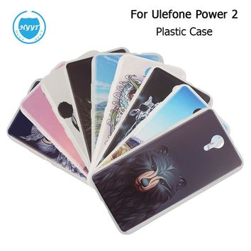 For Ulefone Power 2 Silicone Case Soft TPU Back Cover With Colorful Drawings Print Original Protective Case For Ulefone Power 2