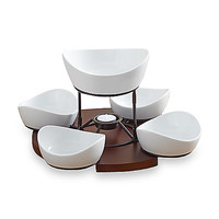 B. Smith Lazy Susan with Serving Bowls Set