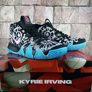 Nike Kyrie 4 Tie Dye Women Men Basketball Shoe